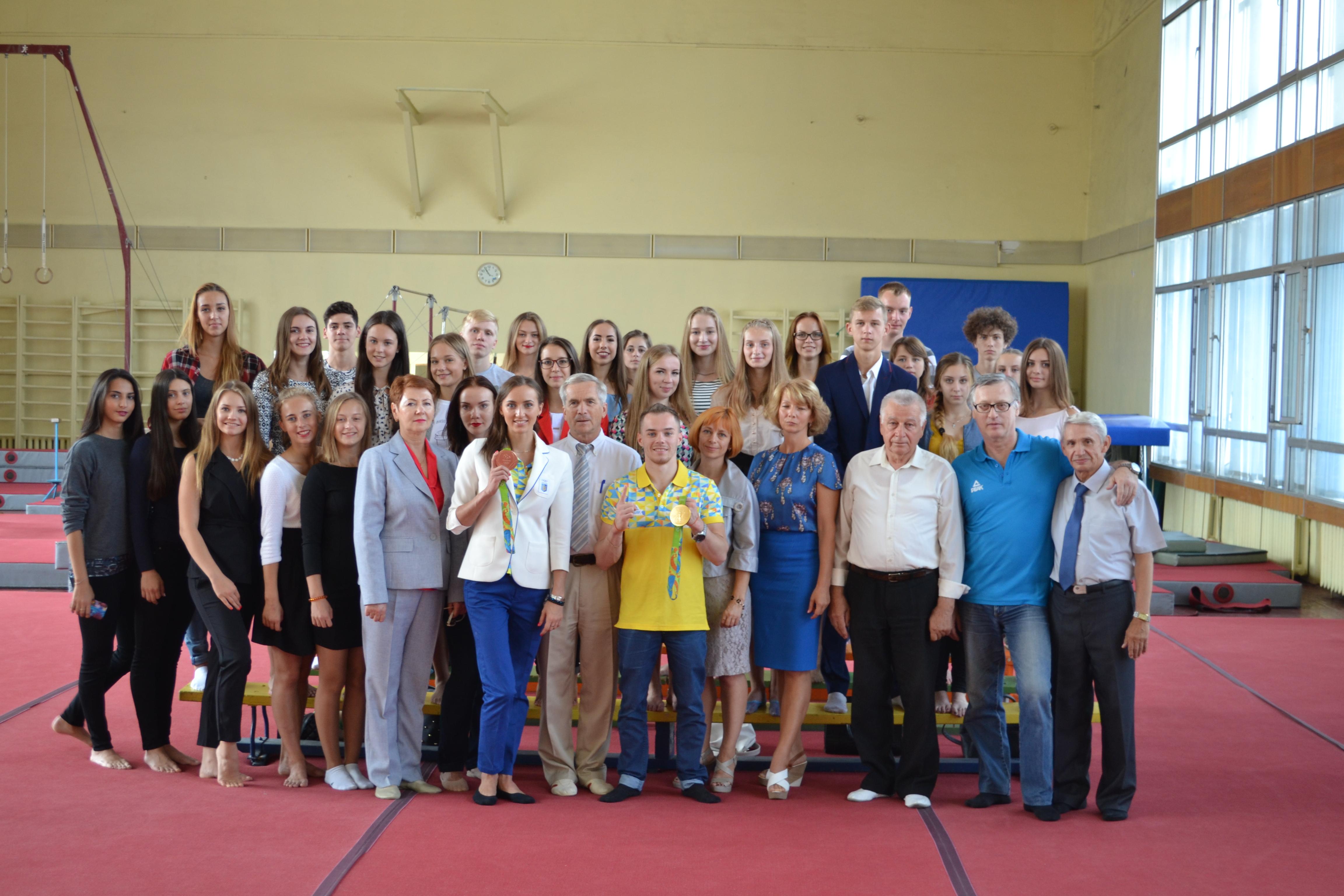 Кафедра спортивних видів гімнастики