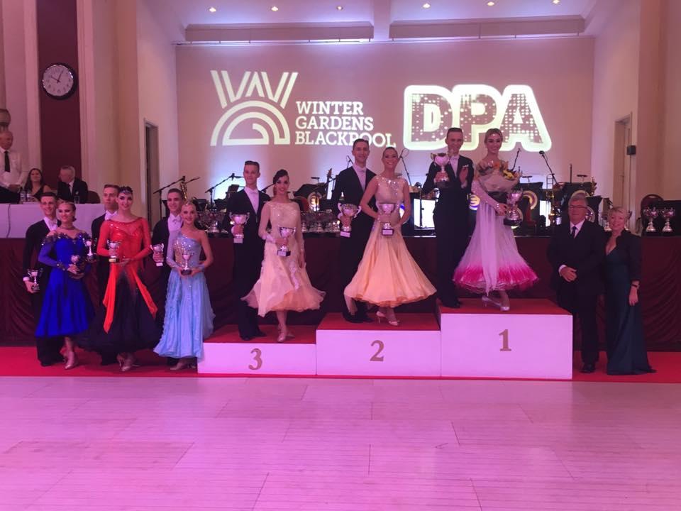 Вітаємо чемпіонів та призерів Чемпіонату Європи WDC AL зі спортивних танців!