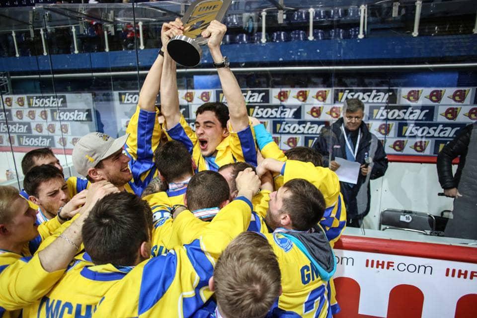 Студенти НУФВСУ стали чемпіонами світу з хокею з шайбою (1 дивізіон, група Б)