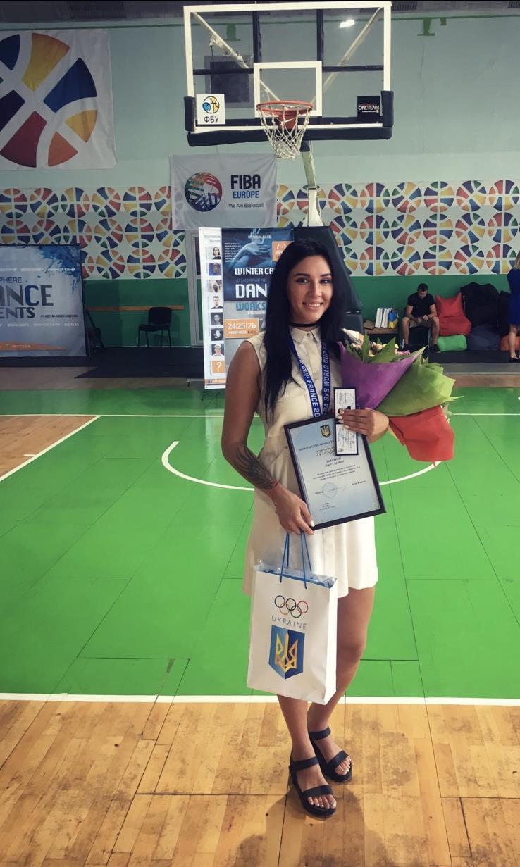 Завидна Дар'я - ЗМСУ по баскетболу. Срібна призерка ЧМ 2016 по баскетболу 3х3